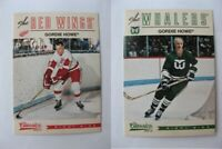 2012-13 Panini Classic Signatures #1 Howe Gordie  base  wings
