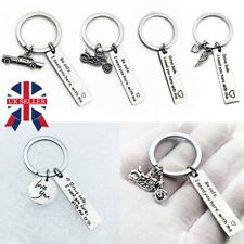 Drive Safe I Need You Here With Me Stainless Steel Keyring Keychain Novelty Gift