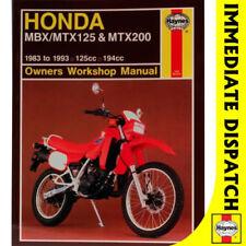honda pa50 s st dx custom full service repair manual 1983 onwards