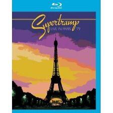 """SUPERTRAMP """"LIVE IN PARIS 1979""""  BLU-RAY NEW+"""