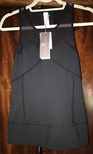 NEW Adidas Stella McCartney Black Run Perf Tank Top Sport S NWT