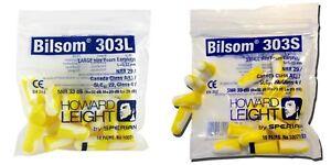 Honeywell Howard Leight Bilsom 303 Foam Earplugs SNR:33dB 10 Pairs/Pack - 2 Size