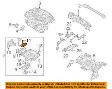 BMW OEM 01-06 325Ci Rear Body-Battery Tray 51718237364