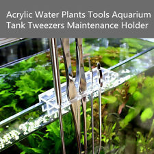 Maintenance Holder for Aquarium Tank Glass Water Plants Tools Tweezers Scissors