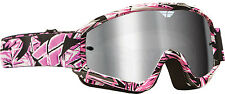 Fly Racing Focus Adult / youth Goggles With Clear Lens Offroad ATV MX Dirtbike