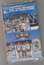 1993 94 New York Rangers Media Guide/Yearbook Stanley Cup Champs Messier Leetch