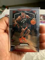 2019-20 PANINI CHRONICLES Prizm Update SP Terence Davis Rookie RC Card #509