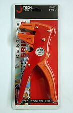 NEW JeTech Multi Function Wire Stripper & Cutter 2 Way Tool 170mm