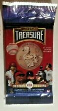 2018 *f/s Hobby Baseball Treasure Collectible Trading Coin Pack~1 Coin Per Pack*