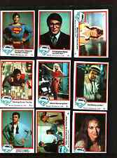 1978 Topps Superman  Trading Card Set (77) Cards Excellent Condition