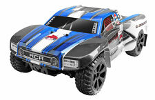 1/10 Brushless 4WD Redcat Blue Short Course RC Truck BLACKOUT SC PRO LIPO