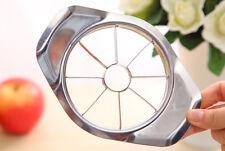 Apple Wedger Stainless Steel Metal Slicer Cutter Corer Divider Peeler Fruit   E