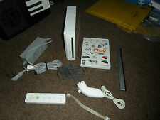 Nintendo Wii Console Bundle With Official Controller Remote Nunchuck Play Game