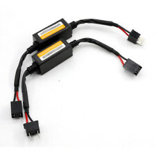 2Pcs H7 Headlight Canbus LED Decoder Error Free Anti-Flicker Resistor Canceler