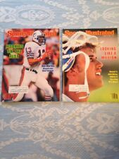 1983 Sports Illustrated Elway Marino NFL Rookies