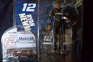 RYAN NEWMAN ACTION FIGURE & 1/64th SCALE RYAN NEWMAN NASCAR