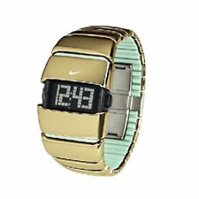 NIKE BIG AL DIGITAL SPORT WATCH GOLD MINT WC0001-901