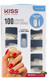 KISS Active Square Nails - Pack of 100