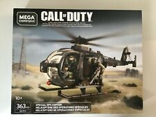 mega bloks construx Call Of Duty Special Ops Copter New In Box