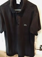 Genuine Classic Vintage Mens Brown Lacoste Polo T Shirt Size 5 Large