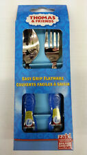 ZAK THOMAS & FRIENDS 2 PIECES EASY GRIP SPOON FORK SET 100% ORIGINAL LICENSED