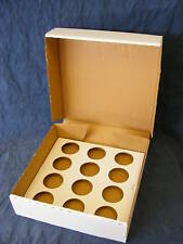 Cup cake box white heavy duty holds 12 cup cakes