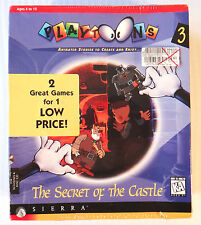 Playtoons: Secret of the Castle & Mandarine Prince ~ NEW SEALED ~ PC/Mac Game