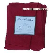 FRENCH LAUNDRY HOME RED QUEEN COVERLET  96x98  NEW!  $800 MSRP