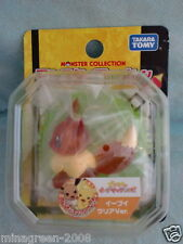 BNIP TAKARA TOMY JAPAN Pokemon Movie Limited Monster Collection EEVEE Clear ver.