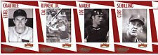 Rochester Red Wings Legends Cal Ripken Jr team set uncut strips sheets cards SGA