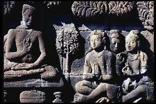 217092 borobodur un tempio frieze Buddha insegnamento il suo discepoli A4 FOTO STAMPA