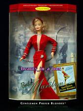 """MARILYN MONROE Gentlemen Prefer Blondes Red Dress Barbie Doll Hollywood Legends"""""""