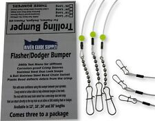 "24"" Trolling Bumper for Flashers & Dodgers 3 Pack >>>By River Guide Supply<<<"