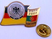 Pin / Anstecker + Team DFB Deutschland + UEFA Fußball EURO 2004 + Portugal #110