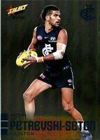 ✺New✺ 2020 CARLTON BLUES AFL Card SAM PETREVSKI-SETON Footy Stars Prestige