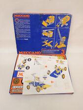 ESF-05502Metallbaukasten Meccano 3, Komplettheit kann nicht garantiert werden