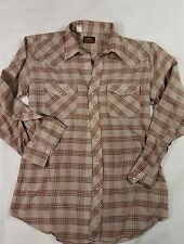 Western Fashions mens snap button pearl snap long sleeves