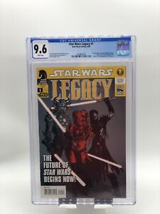 Star Wars: Legacy #1 CGC 9.6 White Pages 1st App Cade Skywalker, Krayt, Nihl