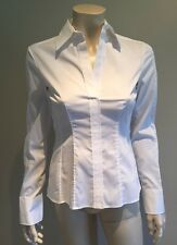 Brand New Ladies Hugo Boss Business White Shirt Blouse White Fitted