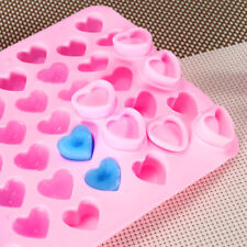 55 Hearts Cake Mould Soap Wax Maker Chocolate Mold Holiday Wedding Candies