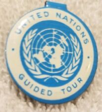 United Nations Guided Tour Button
