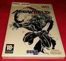 MADWORLD NEUF SOUS BLISTER NINTENDO WII VERSION 100% FRANCAISE