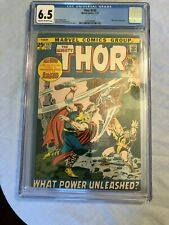 Thor #193--CGC 6.5-Silver Surfer appearance! Last Stan Lee story as reg. writer!