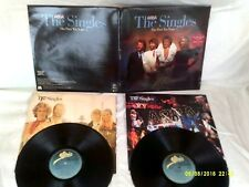 ABBA,THE SINGLES THE FIRST TEN YEARS,1982 DOUBLE ALBUM,PHOTO INNERS,VG+CONDITION