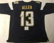 Keenan Allen Autographed Los Angeles Chargers Dark Blue Jersey Beckett COA