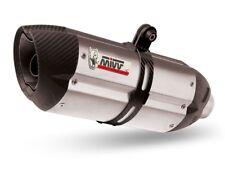 MIVV Auspuff SLIP-ON Sport Suono Edelstahl mit Carbon-Endkappe Yamaha FZ8 / Faze