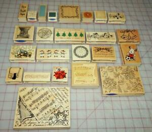 StampaBilities Rubber Stamps You Choose! Lady Bug, Music, Snoopy, Background, +