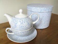 V&A Museum Tea For One Porcelain Set Teapot Teacup Saucer Art Nouveau W Morris
