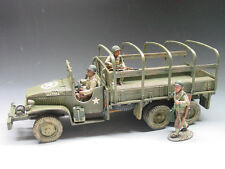 KING & COUNTRY D DAY DD039 U.S. 3RD INFANTRY GMC JIMMY 2 1/2 TON TRUCK SET MIB