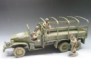 KING & COUNTRY D DAY DD039A U.S. 3RD INF. RED BALL EXPRESS GMC JIMMY 2 1/2 TON